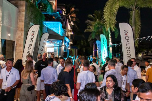 yacht sourcing opening party new office thailand yacht show phuket