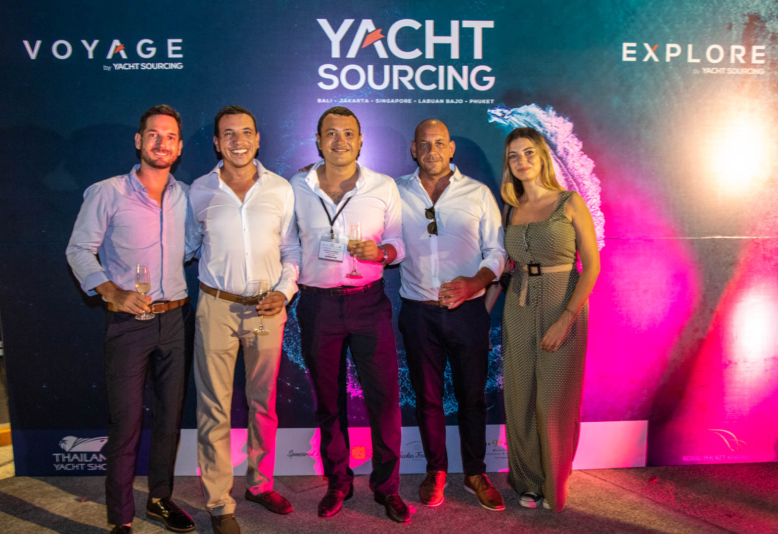 Yacht sourcing opening party phuket thailand yacht show