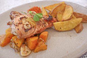 Grilled chicken by chef Bruno on Prana