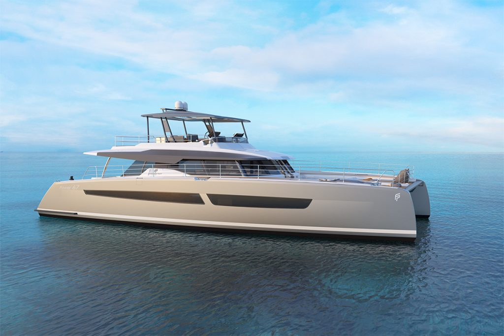 MOTOR YACHT POWER 67 CATAMARAN